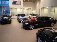 Come in out of the cold & check out our holiday showroom at Cain BMW North Canton! (330) 494-5588