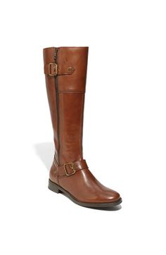 This might be the only pair of riding boots with a zipper that I have seen that doesn't totally turn me off.