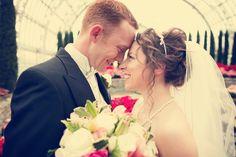 Adorable. ♥ Photo by Eileen. #ComoParkZooAndConservatory #weddings #minneapolisweddingphotography
