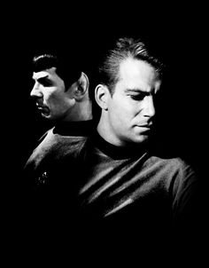 Star Trek; Spock and Kirk