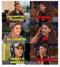 Imagen de memes, frases en español, and ariana grande