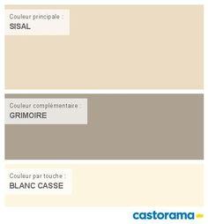 Castorama Nuancier Peinture - Mon harmonie Peinture  SISAL satin de TOLLENS Prestige premium