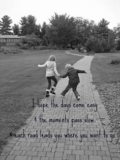 """Love this! This is """"my wish"""" for my boys....they are growing up way too fast!"""