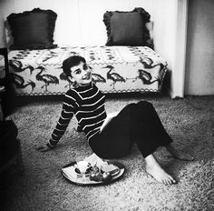 """""""vintagegal:  Audrey Hepburn photographed by Mark Shaw, 1953   """""""