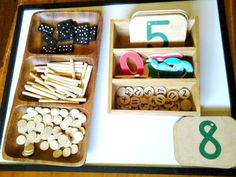 """Open-ended maths play with loose parts from Racheous ("""",)"""