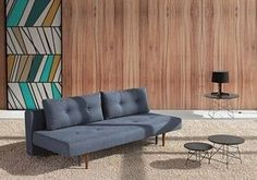 The Recast Sofa Bed Is A Statement In Mid Century Danish Design It
