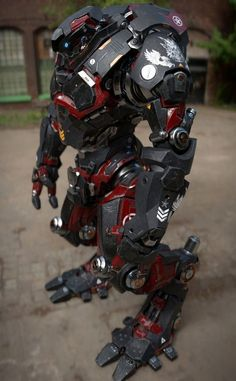 Hey guys Here is a personal project of a sci fi Mech called Nyx. He is a beast of a mech designed for sprinting but still causing some major damage.
