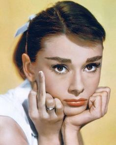 Audrey Hepburn gets real.