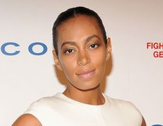 """Solange Knowles has flawless skin! We love the """"no makeup"""" look!"""