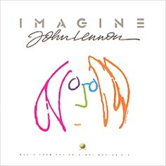 Album cover of John Lennon and his song called imagine.