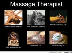 Perceptions of massage therapy - the good, the bad, and the ugly…ENJOY!