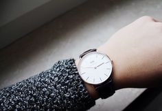 Minimal + Classic: Daniel Wellington watch