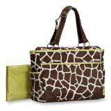 Carter's Fashion Tote Bag, Giraffe Print