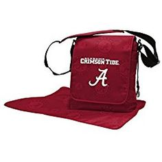 Show your little sports fan what team spirit really is with the Lil Fan NFL Messenger Diaper Bag. The spacious bag features a magnetic flap, insulated divider pocket, removable shoulder and backpack straps, and a coordinating, non-slip changing pad.