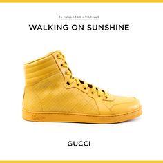 Diamante Leather High-top Sneakers, Gucci - La Gaceta No. 109 - El Palacio de Hierro