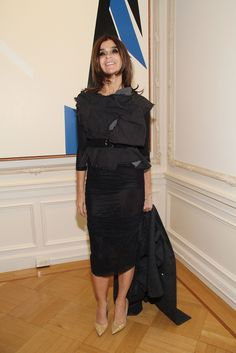 Carine Roitfeld Photos - Carine Roitfeld attends the Clare Rojas Artist Reception presented by Vladimir Restoin Roitfeld on November 2013 in New York City. - Clare Rojas Artist Reception Presented By Vladimir Restoin Roitfeld Fashion Books, Fashion News, Vogue Editor In Chief, French Women Style, Carine Roitfeld, Versus Versace, Mademoiselle, Vogue Paris, Simple Style