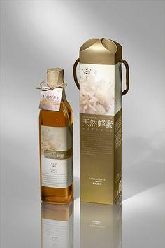 Lovely #honey #packaging, via Flickr. PD