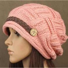 gorro de trico feminino 6