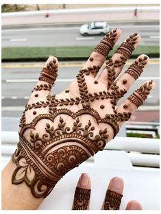 Easy Mehndi Designs, Latest Mehndi Designs, Modern Henna Designs, Henna Tattoo Designs Simple, Beginner Henna Designs, Mehndi Designs For Girls, Henna Art Designs, Mehndi Design Photos, Mehndi Simple