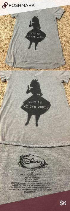 Women's Disney t-shirt Washed but never worn. In perfect condition. Juniors size medium. Disney Tops Tees - Short Sleeve