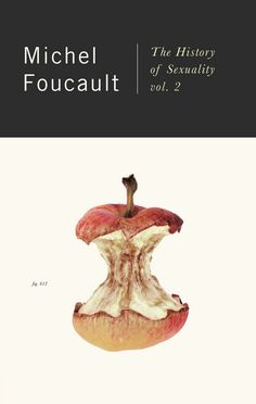 The History of Sexuality Volume 2 by Michel Foucault, design by Peter Mendelsund