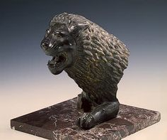 Lion's Head Ancient Italy. Etruria. First half of the 5th century BC Bronze.