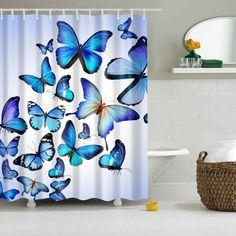 Resultado de imagen para cortinas para baño pintadas a mano