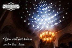 """""""You will feel reborn under this dome.""""  """"Bu kubbenin altında yeniden doğmuş hissedeceksiniz!"""" Tarihi Cağaloğlu Hamamı İletişim: 0 212 522 2423    #CağaloğluHamamı #TarihiTürkHamamı #Hamam"""