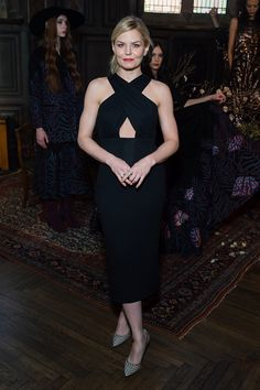Jennifer Morrison attends the TRESemme at Mara Hoffman A/W16 Presentation at High Line Hotel, The Refectory on February 13, 2016 in New York City.