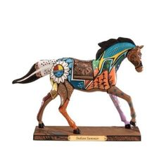 Amazon.com: Trail of Painted Ponies Indian Summer Pony Figurine 6.13-Inch: Home & Kitchen