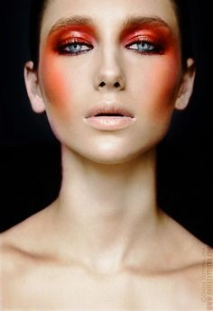 Of course, the hottest fire related makeup look was made for Hunger Games character Katniss Everdeen. In my opinion. But there is yet to find tons of coolest (I meant - hottest) id...