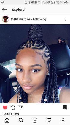 85 Box Braids Hairstyles for Black Women - Hairstyles Trends Kids Braided Hairstyles, African Braids Hairstyles, Little Girl Hairstyles, Black Women Hairstyles, Weave Hairstyles, Fashion Hairstyles, Black Hairstyle, Short Hairstyles, Hairstyle Ideas