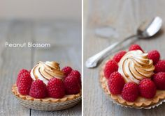 """August Food Photography Challenge: Summer Desserts. Or """"How I style a photo while my kitchen is still packed in moving boxes!"""""""