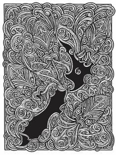 Toru - The Four Winds by Dave Burke and Kees Meuws Maori Patterns, New Zealand Art, Maori Tattoo Designs, Nz Art, Maori Art, Creative Background, Kiwiana, Easy Christmas Crafts, Colouring Pages