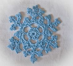 CROCHET SNOWFLAKES PATTERN | Recent Photos The Commons Getty Collection Galleries World Map App ...