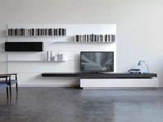 Mueble modular de pared montaje pared LOAD IT by Porro diseño Piero Lissoni