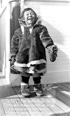 Mukpie. Inuit. ca. 1914. Photo by Lomen Brothers. Nome, Alaska. Source - Library of Congress.