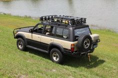 Thinking about rhino lining the entire fj80 land cruiser like this guy did. Check it out.