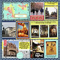 Another Europe page Right.  Using Just Jaimee's Storyteller Hunter Collection.