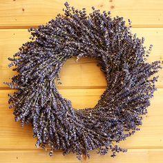 Autumn Lavender Wreath