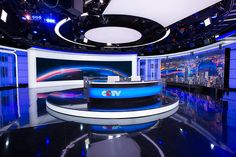 8 | With Glittering New Set Design, CCTV News Takes Aim At The World | Co.Design | business + design