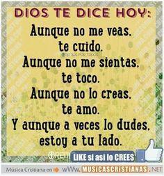 Siempre estoy contigo, JESÚS !!!