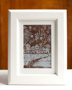 DIY Printmaking: How to Make Your Own Linocut Print - I remember doing this in 7th grade art class...
