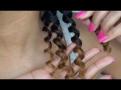 ▶ How To Get Perfect 3 Strand Twist Out Results on Natural Hair - YouTube