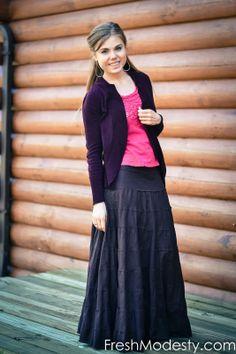 Fresh Modesty: Friends of Fresh Modesty: Iris! #freshmodesty #modestoutfit #modesty