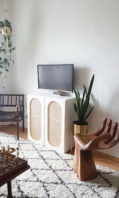 DIY Rattanschrank - IKEA IVAR HACK