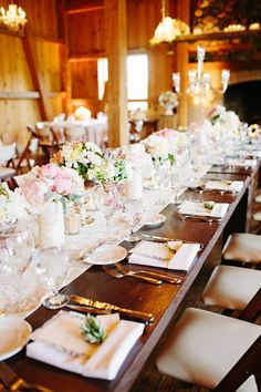 Best of 2013: Beautiful Tablescapes from Real Weddings | Mine Forever