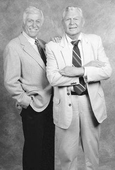 Dick Van Dyke and Andy Griffith The true actors and singers who could put on a good, clean show! Take me back to their time.