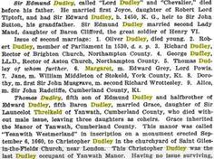 Edmund Dudley's Family