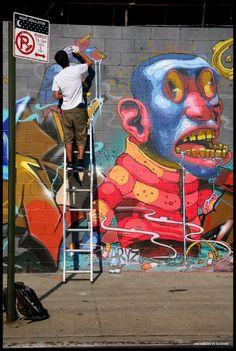 Beyond Banksy Project / Aryz